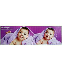 Sweet Twins - Baby Poster