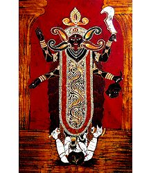 Goddess Kali - Batik Painting on Cloth