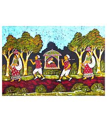 Bride in a Palanquin - Shop Online