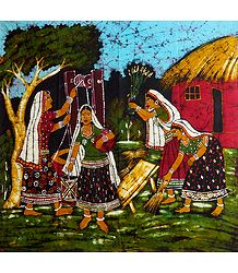 Village Women Near the Well