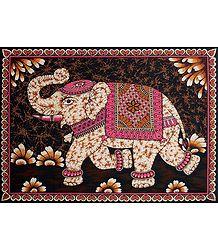 Royal Elephants - Buy Batik Print