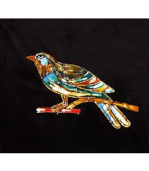 Colorful Bird - Batik Painting