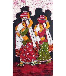 Paniharis - Batik Painting