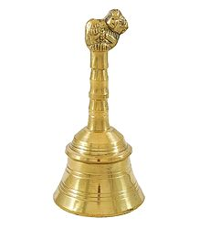 Brass Bell with Nandi