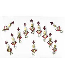 Multicolor Stone Studded 12 Bindis