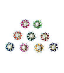 Multicolor Small Round Bindis