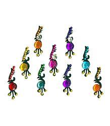 Colorful Designer Stone Bindis