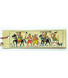 Hunters - Tribal Painting Bookmark