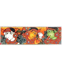 Deco Painting Murals - Bookmark