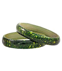 Pair of Acrylic Bangles
