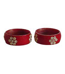 Red Acrylic Bracelet