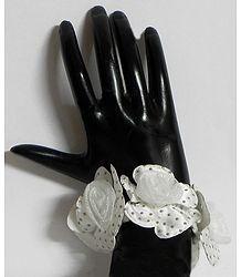 Cloth Rose Stretch Bracelet