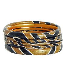 Painted Lac Bangles