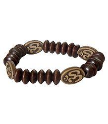 Om Stretch Bracelet