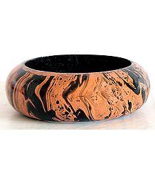 Saffron with Black Painted Bracelet