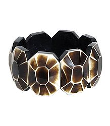 Hexagonal Stretchable Link Bracelet