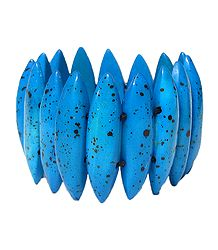 Blue Designer Stretch Bracelet