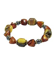 Multicolor Bead Stretch Bracelet
