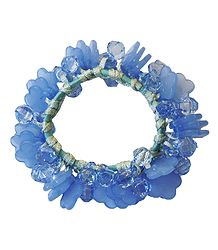Blue Stretch Bracelet