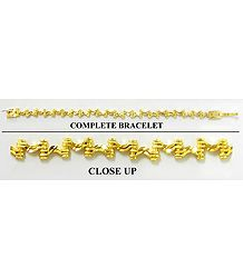 Gold Plated Tennis Bracelet