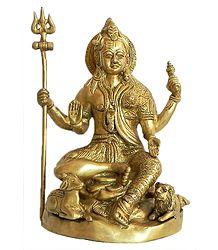 Ardhanarishvara - Brass Statue