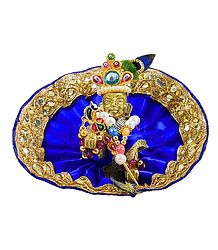 Bal Gopala with Blue Dress