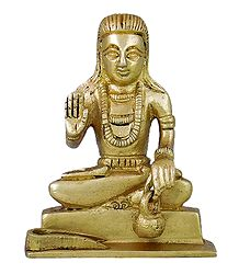 Brass Balaknath Statue