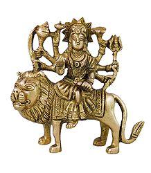 Brass Goddess Bhagawati - Online Shop
