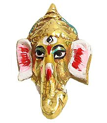 Ganesha Face - Wall Hanging