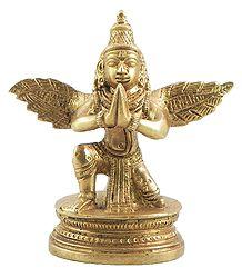 Sitting Garuda - The Divine Vehicle of Vishnu