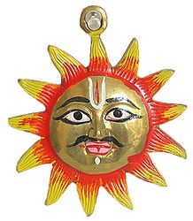Brass Sun God