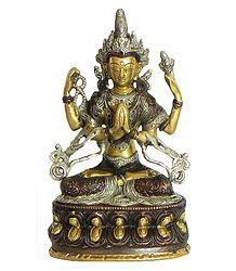 Chenrezig - Four Armed Avalokiteshvara