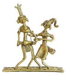 Santhal Tribal Dancers