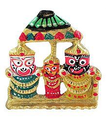 Jagannathdev, Balaram and Subhadra