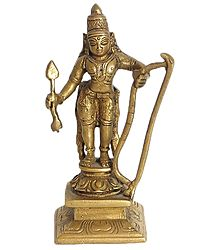 Kama Deva - God of Love - Brass Statue