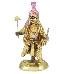 Kartikeya - Son of Shiva and Parvati - Brass Statue
