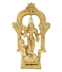 Lord Murugan - Brass Statue