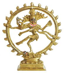 Lord Shiva as Nataraja - Brass Statue