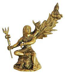 Gangadhar Shiva - Brass Statue