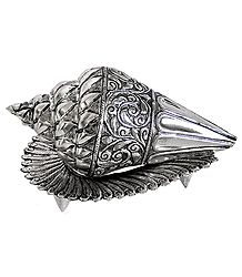 Silver Plated Conch