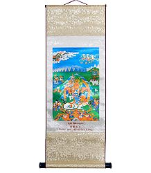 Jambala - Buddhist Kubera (Wall Hanging)