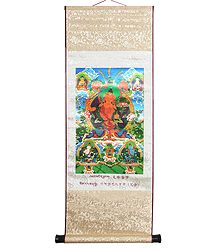 Manjushri - The Buddha of Wisdom (Wall Hanging)