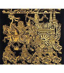 Rama, Lakshmana, Hanuman