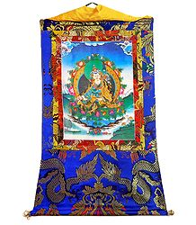 Guru Padmasambhava - Screen Print on Canvas