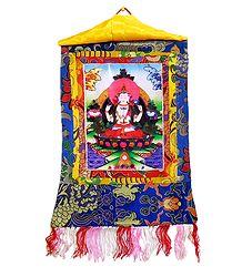 Sadakshari Lokeshvara - Thangka Screen Print