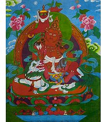 Vaishravana - Screen Print on Paper