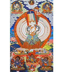 Buy Buddhist Thangka Poster