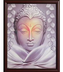 Lord Buddha - Framed Picture