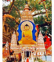 Buddha and Mahabodhi Temple
