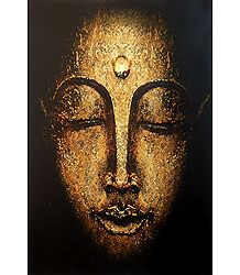 Face of Buddha - Poster
